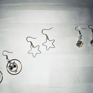 BOGO NWT Gold Star Earrings